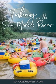 What better way to spend a hot Texas afternoon than tubing on the San Marcos River near Austin in some of the cleanest water in the state. Texas Travel, Travel Usa, Texas Roadtrip, Places To Travel, Travel Destinations, Toddler Travel, Swimming Holes, Travel Guides, Travel Tips