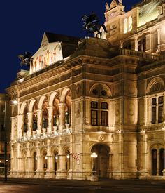 The Vienna State Opera is an opera house – and opera company – with a history dating back to the century. It is located in the centre of Vienna, Austria. Bratislava, Budapest, Beautiful Buildings, Beautiful Places, Wiener Philharmoniker, Vienna State Opera, Austria Travel, Concert Hall, European Travel