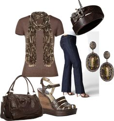 Brown Beauty, created by mailrob on Polyvore