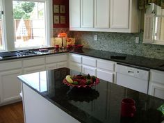 Kitchen Color Palette With Green Granite Countertops What Makes A Excellent Designs White Cabinets