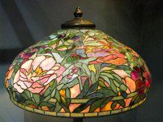 Peony Shade Tiffany Lamp