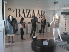 Luxe haute couture Shop Bazaar opens up during Art Basel Miami to debut some of the latest, most fashionable, wearable art. #ABMB #fashion #couture #design district #miami