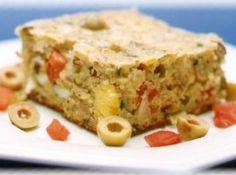 Torta de Frango no liquidificador - Veja mais em: http://www.cybercook.com.br/receita-de-torta-de-frango-no-liquidificador.html?codigo=51785