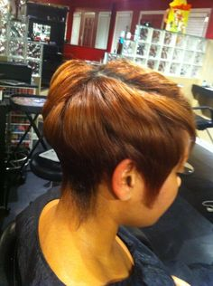 Nice color and cut.. To learn how to grow your hair longer click here…