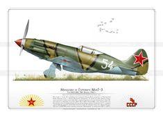"""MiG-3  """"White 54"""" VVS AR-13"""