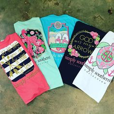 Southern style deserves Simply Southern Tees, perfect for everyday wear…