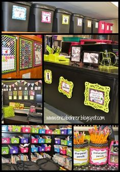 Black & White Polka Dot Plus Brights Classroom Reveal 2nd Grade Classroom, Classroom Setup, Classroom Design, Kindergarten Classroom, Future Classroom, School Classroom, Classroom Door, Classroom Decor Themes, Classroom Organisation
