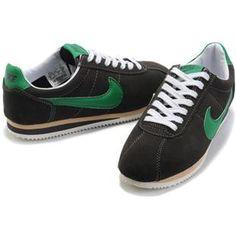 pretty nice b8fc1 bb1cc Mens Nike Classic Cortez Anti-Fur Black Green