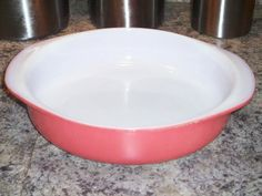 Vintage Pyrex Bright Pink Flamingo Cake Pan by thetrendykitchen, $12.95