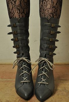 Witch Boots. [non-leather version]