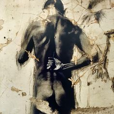 Ernest Pignon Figure Painting, Figure Drawing, Charcoal Art, Anatomy Art, Matte Painting, Sand Art, Street Art Graffiti, Outsider Art, Street Artists
