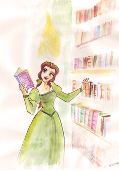 How do you decide what to read when you have your own library?  Beauty and the Beast (c) Disney