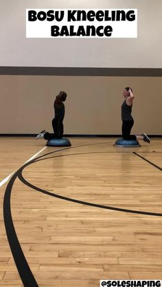 BOSU Kneeling Hold Video Demo | Bodyweight Core Exercise Variations | Bodyweight Exercises At Home | HIIT Exercise Variations Workout | BOSU At Home Exercise Variations | Make An At Home Full Body Workout .#bosu #hiit #homeworkout #swingexercise #exercises #athomeexercise.How To Do BOSU Kneeling Hold-BOSU blue side up; kneel on ball; chest up; core engaged; hands on head with e Hiit At Home, At Home Workouts, Yoga For Weight Loss, Weight Loss For Women, Hand On Head, Denise Austin, Workout Guide, Keto Diet For Beginners, Muscle Groups