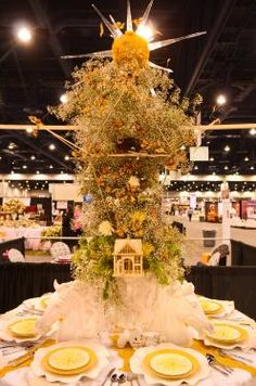 Spring Tabletop setting by Benabese Inc