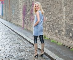 KLEID PEGGY by STEFANIE KROTH Clogs, Fashion, Sewing Patterns, Curve Dresses, Moda, La Mode, Fasion, Fashion Models, Trendy Fashion