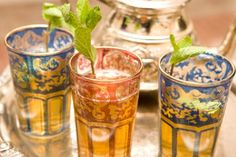 Fascinating tours to experience exotic Morocco. Choose your favourite excursion and visit Fez, Marrakech, Rabat, Merzourga Desert and more. Tea Cup Image, Arabian Food, Tea Glasses, Mint Tea, Marrakech, Tangier, Malaga, Morocco, Easy Meals