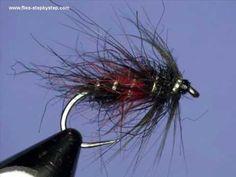 Fly tying - Bibio, wet fly