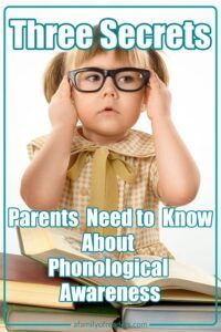 Phonological Awareness is a crucial part of reading readiness. Watch this short video to learn why it is so important to make sure your child develops this skill.