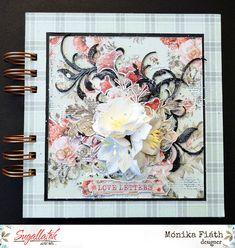 Scrapbook album Love Letters, Scrapbook, Album, Frame, Design, Decor, Picture Frame, Decoration, Cartas De Amor