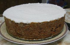 Best Raw Vegan Carrot Cake... I need to find a shallow spring form pan that will fit in my dehydrator.