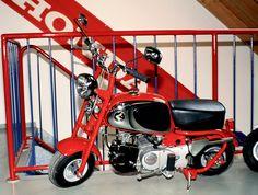 So sahen die ersten Honda Monkeys in den 60er Jahren aus.