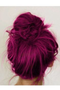 Cool purple hair!!!! :D