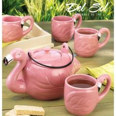 FLAMINGO 5PC SHAPE TEA SET GB by Home Essentials, http://www.amazon.com/dp/B004OU1VX2/ref=cm_sw_r_pi_dp_XluRpb1T859PM