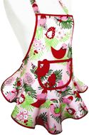 Child's Apron--Christmas Starlings!