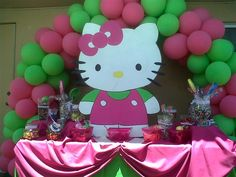 Candy buffet- Hello Kitty
