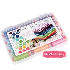 Simply Color Large Aurifil Thread Box V and Co. #SC50VC12 #FQSgiftguide