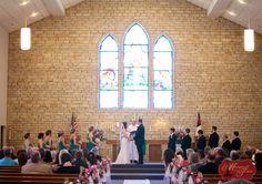Zion Lutheran, Abilene - Our wedding church