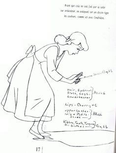 Disney Princesses - Cinderella sketches and concept art