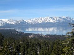 spring in tahoe. snow and sun. at the same time.