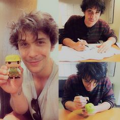 . Hope you all have a great day • • ➖➖ #bobmorley #bellamyblake #the100