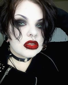 Nancy - The Craft Makeup Look