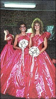 7ed64b8088 46 Ridiculous Vintage Bridesmaids Dresses That Show Just How Much Time Has  Changed. Jean Keeler · Ugly Bridesmaid Dresses