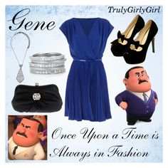 """""""Disney Style: Gene"""" by trulygirlygirl ❤ liked on Polyvore featuring Full Tilt and Tosca Blu"""