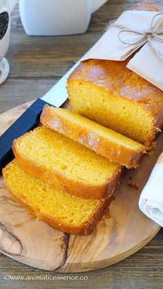 Egg-free Mango loaf cake | Eggless mango cake - Aromatic Essence