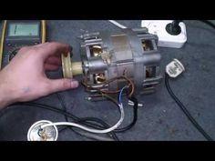 Подключаем двигатель стиральной машины. Connect the engine of washing machine - YouTube
