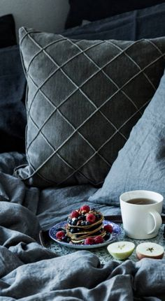 leinen bettw sche lovely linen von kardelen zart rosa 220 x 240 cm lovely linen. Black Bedroom Furniture Sets. Home Design Ideas