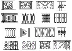 4 French Gothic Overscallop Picket Fence Diagram French