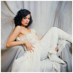 Nicaraguan actress, model, and human rights activist Bianca Jagger 1970's Norman Parkinson