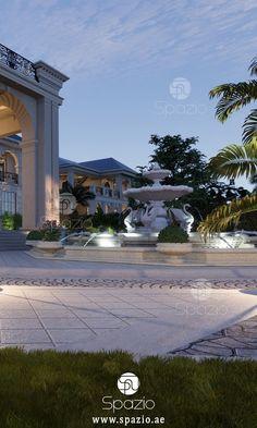 Calming great home décor designers Interior Design Companies, Best Interior Design, Garden Landscape Design, Garden Landscaping, Palace, Architecture Design, Mansion Designs, Style Royal, Companies In Dubai