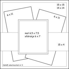 Best 12 Trendy Design Layout Square Scrapbook Pages Scrapbook Patterns, Scrapbook Templates, Scrapbook Sketches, Scrapbook Page Layouts, Card Sketches, Scrapbook Cards, Fancy Fold Cards, Folded Cards, Card Making Templates