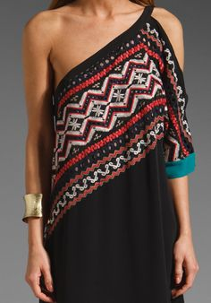 BCBGMAXAZRIA RUNWAY Nikolina Dress in Black at Revolve Clothing - Free Shipping!