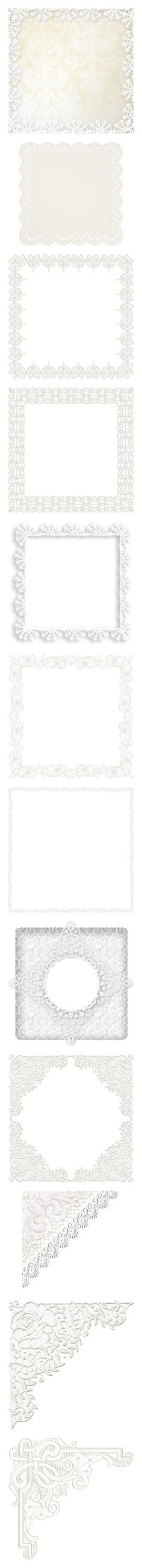 """Lace (1)"" by maneevanit ❤ liked on Polyvore featuring backgrounds, frames, borders, effects, wallpaper, pattern, picture frame, fillers, lace and picture frames"