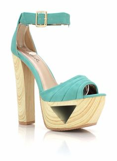 pleated cut-out platforms