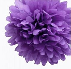 Aimeart Party Tissue Pom Poms 6 Pcs 8inch Diameter Paper Flower Ball Hanging Decorations Dark Purple >>> Click image for more details.Note:It is affiliate link to Amazon.