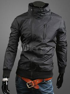 Mens Jacket With Zipper Design - Save Up to 70% Off on fabulous fashion trend products at Milano with Coupon and Promo Codes.