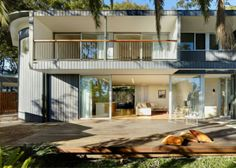 Ein Design vom Haus - Das Pacific Road House von Tanner Kibble Denton Architects - http://wohnideenn.de/exterior-design/07/design-vom-haus.html